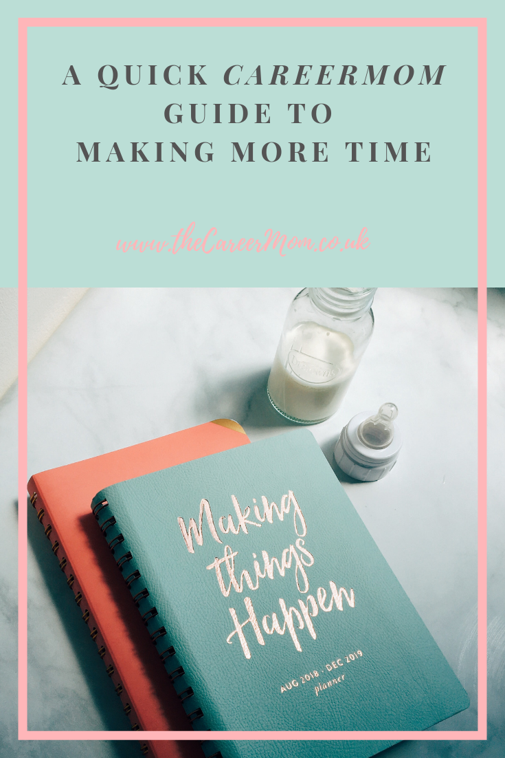 If you want to know how to maximise your time and productivity - ask a single career mom! Here are CareerMom's three top tips for finding more time everyday