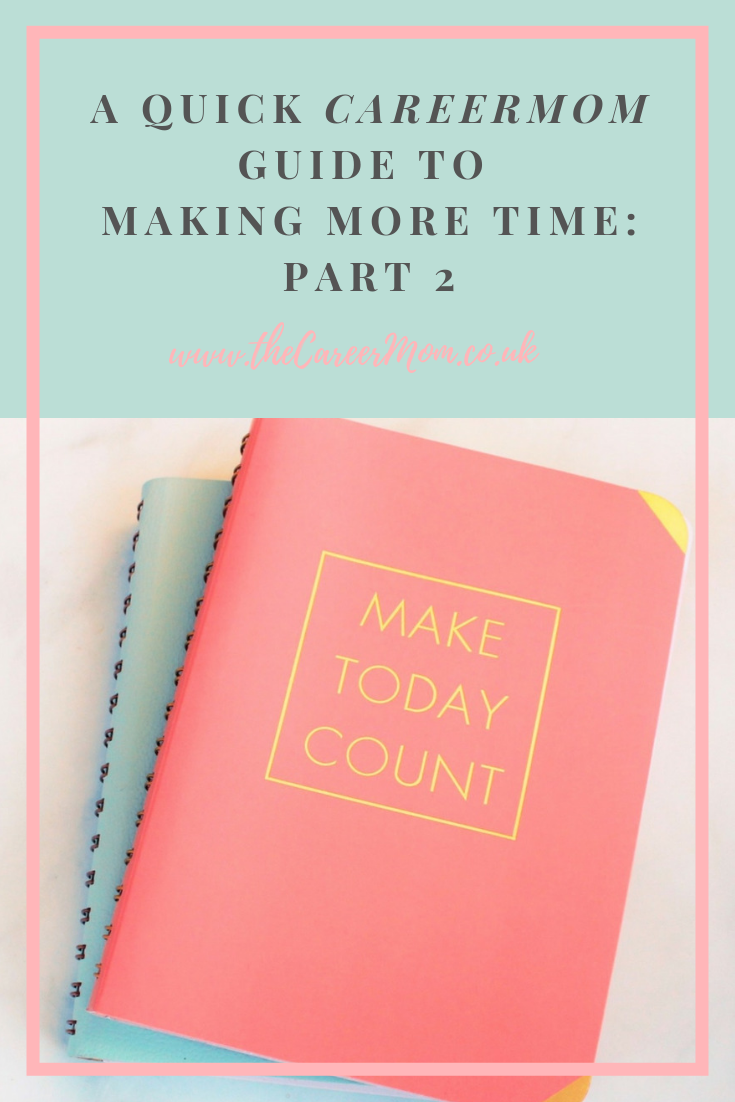 Do you feel like you never have time to yourself to get everything done?! Here are six practical tips from a busy single CareerMom who wanted more quality time for herself and to spend with her two toddlers!