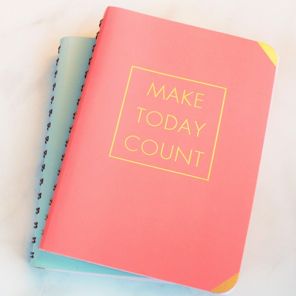 Busy CareerMom make today count time management journal