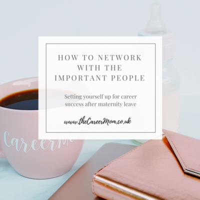 "How to network with ""The Important People"""