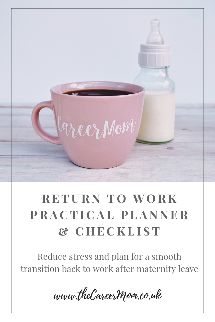 Wanting to spend every last moment of maternity leave with your little one - whilst worrying what planning you should be doing to ensure a smooth transition back to work? In the last days of maternity leave - this free return-to-work practical planner and checklist gives invaluable tips to reduce stress and create balance when you get back to the office. It will guide you to set yourself up for career success after maternity leave!