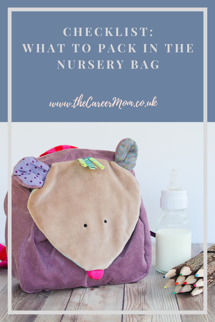 It was the night before my eldest went to nursery for the first time. With a combination of tiredness, baby brain and the overwhelming emotions about my baby going to daycare, I couldn't work out what to pack in her bag and wished I had an easy checklist to follow. If you are feeling the same - here's a checklist to help you...