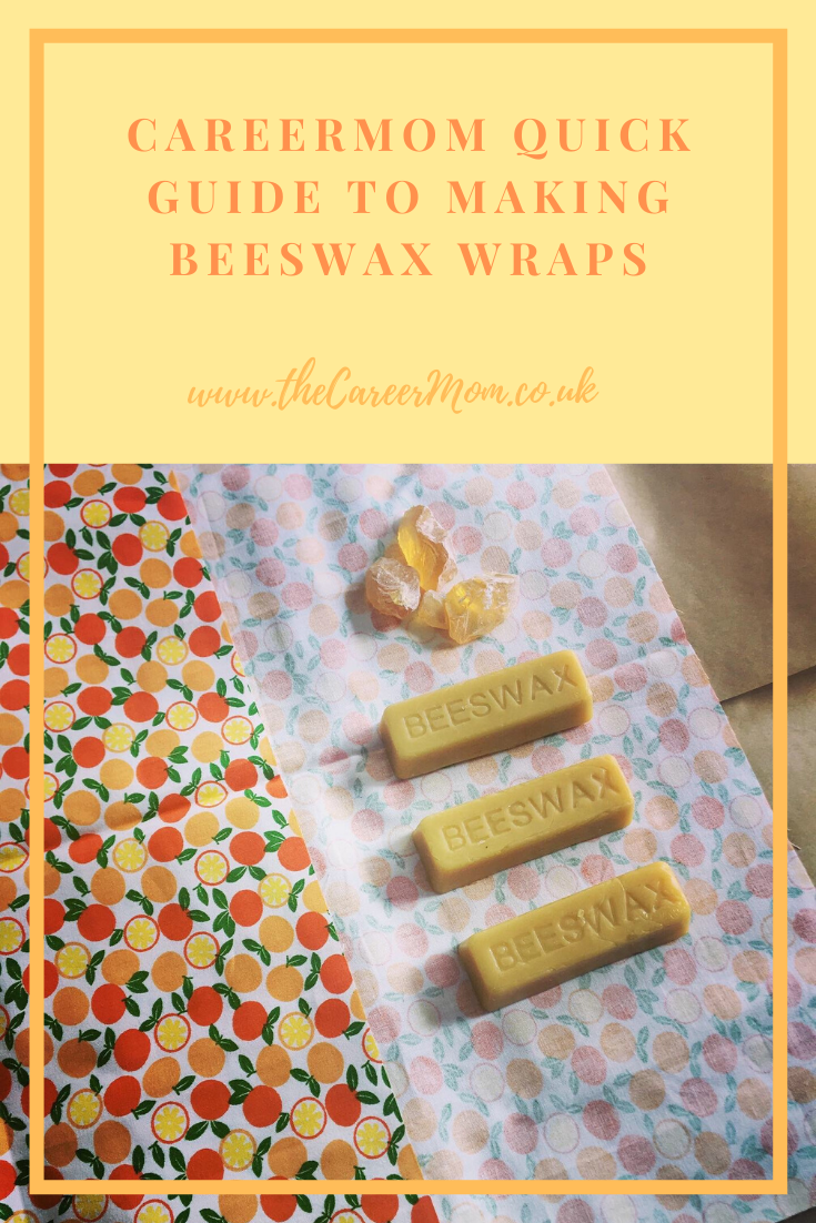 The CareerMom Quick and Simple Guide to making Beeswax Wraps 🐝